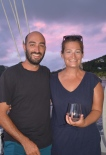 Brian & Lauren from s/v Nightingale Tune; Bequia Nov. 2016
