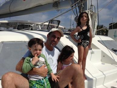 The DeWitt Family, Marina del Rey, CA Aug. 2013