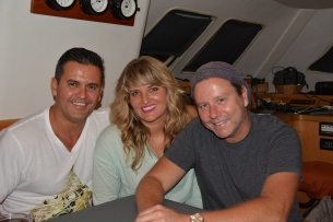 Luciano, Alison and Lloyd, Fort Lauderdale, July 2015