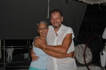 Ann and Basil from S/V Keifi, June 2015, Fort Lauderdale, Florida
