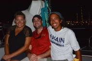 Joanna Andrew & Marc from S/V Disco Fish, Falmouth, Antigua, Dec. 2016