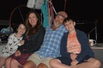 Eliza, Molly, Chris & Owen; Orient, NY, September 2015