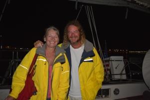 Beth & Randy from SV Moorahme, Sint Maarten, May 2016