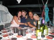 Audrey, Eric, Richard and Birgitta, La Paz, Mexico November 2013
