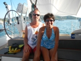 Paul and Carol from S/V Unleashed, Mexico, Feb 2014