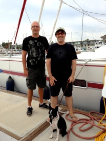Tom, Andre and Hamlet, Marina del Rey, CA June 2013