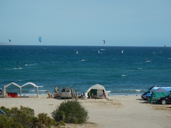 Camps at La Ventana Kite Beach