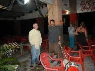 JC (Sand Dollar) & Peter dinner in Matanchén