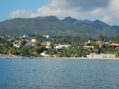La Cruz coastline