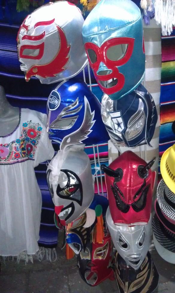 Lucha libre mask for sale in Puerto Vallarta