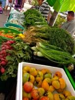 La Cruz farmer's market