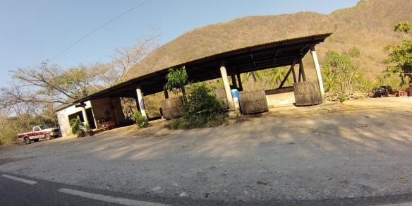 Roadside Mezcal factory