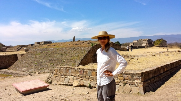 Mary at Monte Alban