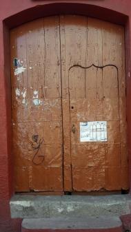 Love the little door within the big door