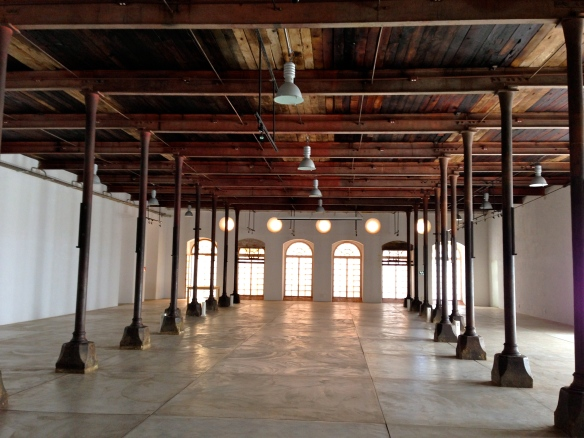Interior of former weaver factory