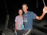 Janet and Paul from S/V Talos IV, Las Hadas, Mexico; January 2014