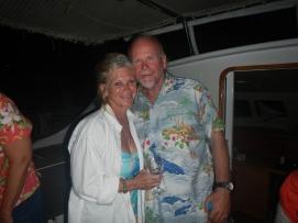 Judy and Jeff from S/V Island Mistress, El Salvador; April 2014