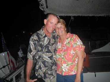 Rob and Rose from S/V R&R Kedger, El Salvador; April 2014