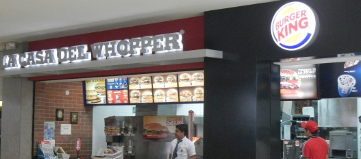 Casa del Whopper
