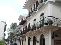 Casco Viejo restored homes