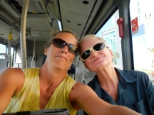 My friend Robin & I mastered the buses!