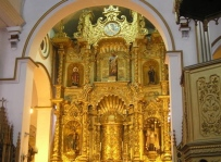 Golden Altar at Iglesia de San José