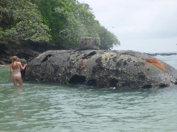 Pearl diving sub
