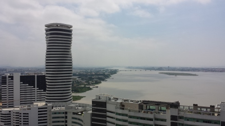 View of Guayas River