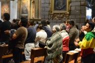 There are tons of churches in Quito, all were packed on this Sunday