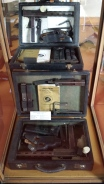 Briefcase machine guns in the military museum reminds one of more perilous times
