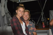 Kaycee and Greg from S/V Oceanna, Shelter Bay Panama Sept. 2014