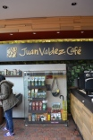 Juan Valdez is alive and well. Folks were up in arms because the first Starbucks had just opened in Colombia.