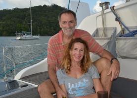 Chad and Patty from S/V Cape Sable; Portobello, Panama Nov. 2014
