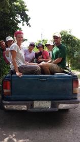 Transporting gringos