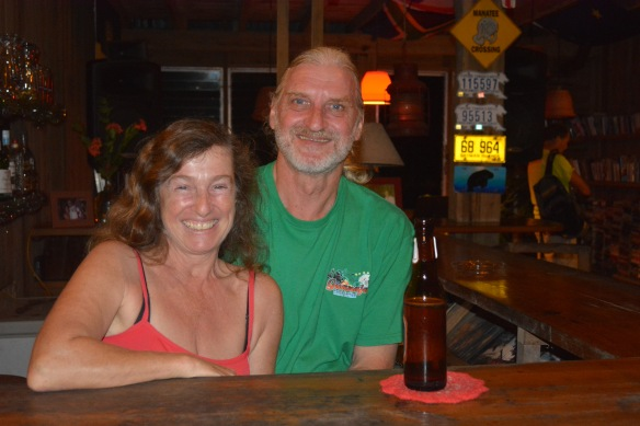 Klaus and Annette, the über friendly owner's of Manati