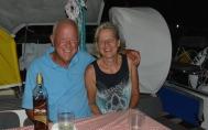 Syd & Birgit from S/V Serafina; Puerto Morelos, Mexico, March 2015