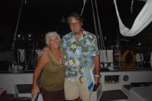 Harry & Melinda from S/V Sea Schell; Puerto Morelos, Mexico, March 2015