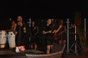 Music is everywhere in Cuba. Lovely to hear this all girl band.