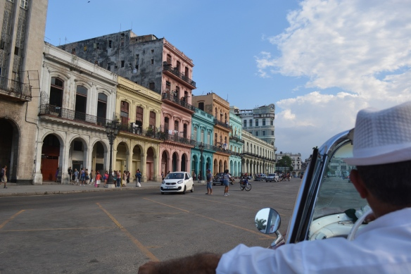 Cruising the streets of Havana