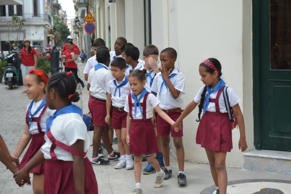 All school children wear uniforms