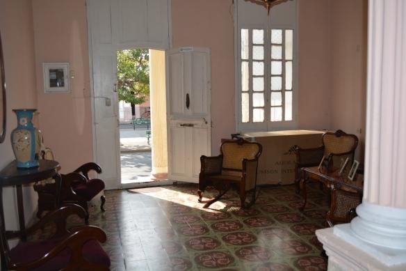 Interior common room of  Cienfuegos casa particular