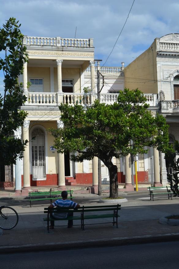 Exterior of Cienfuegos casa particular