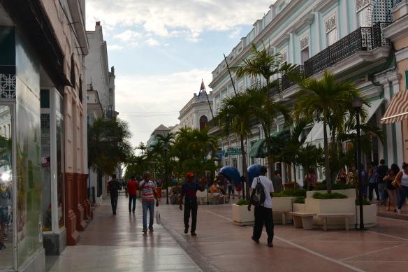 Cienfuegos shopping promenade