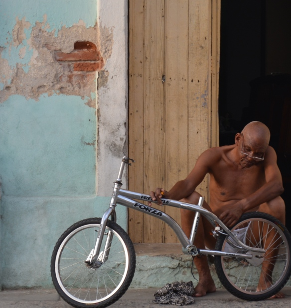 Man and bike
