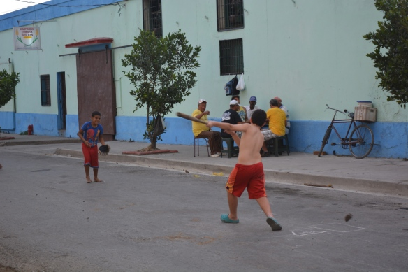 Cienfuegos baseball game.