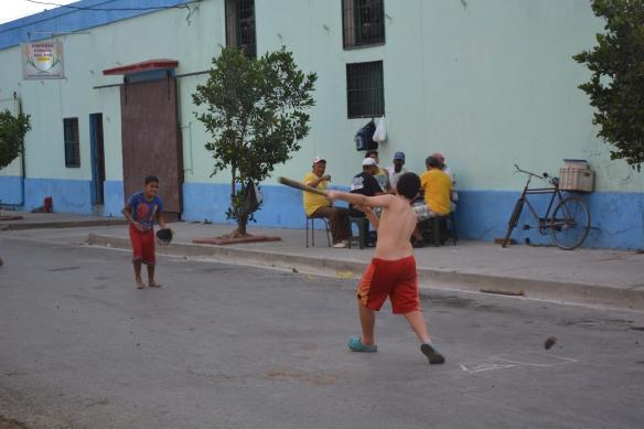 Cienfuegos baseball game.