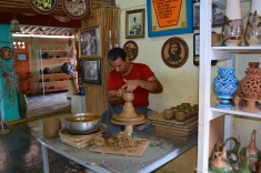 The Santander family has been making pottery in Cuba since the late 1800s.