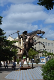 Fighting windmills in Havana.