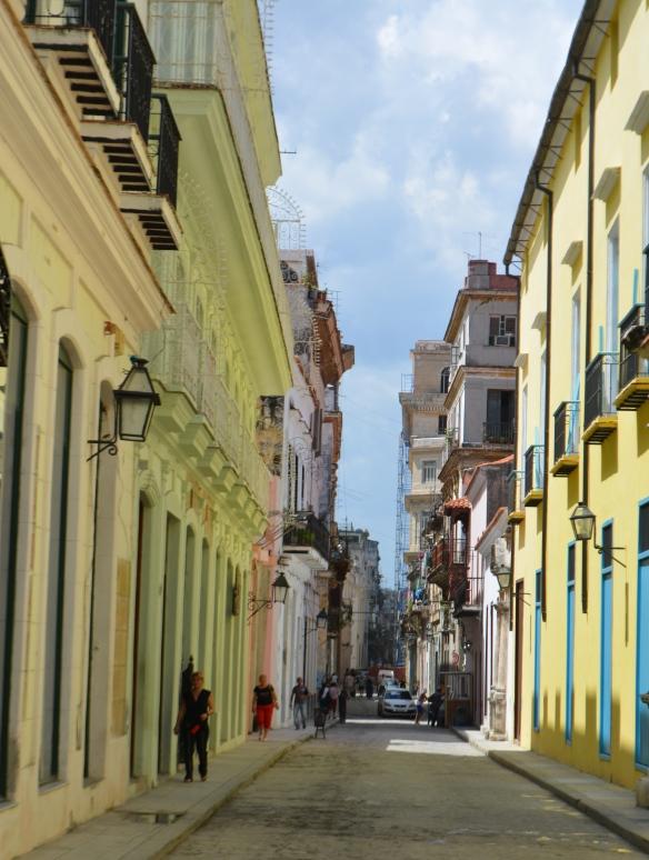 colorful sidestreet