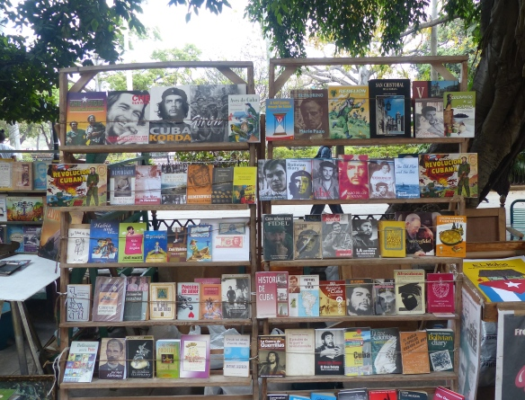 Endless supply of books on Che and the revolution